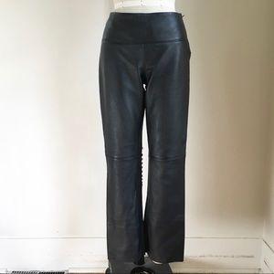 Express Genuine Leather Pants sz 3/4